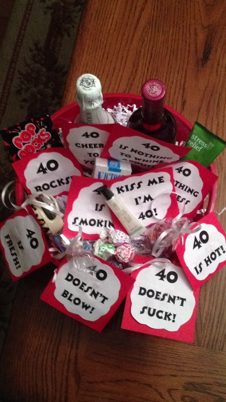 Best ideas about Gift Ideas For 40th Birthday Female . Save or Pin Best 25 40th birthday ts ideas on Pinterest Now.