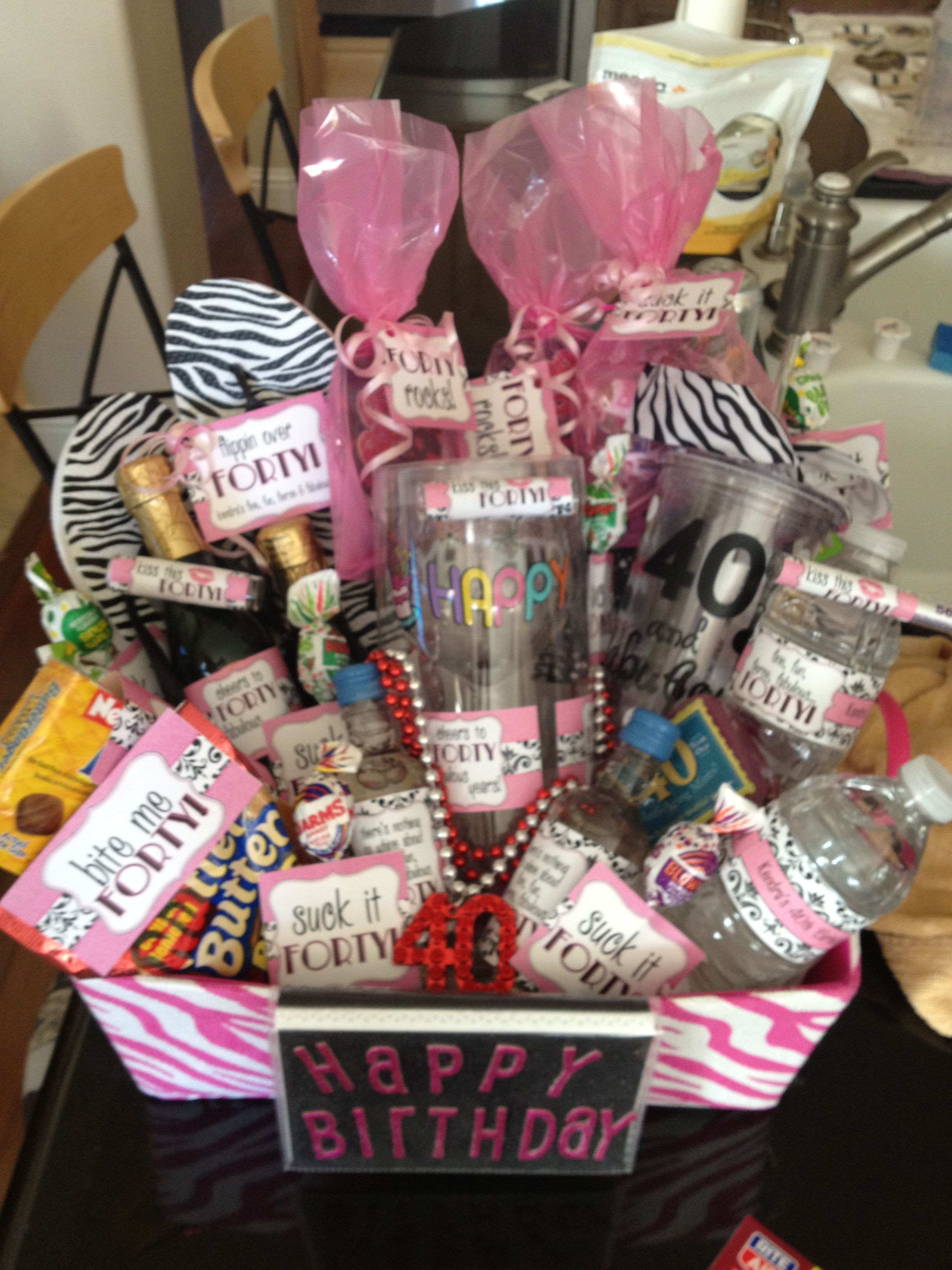 Best ideas about Gift Ideas For 40th Birthday Female . Save or Pin 40th birthday t r my cuz Ken Now.