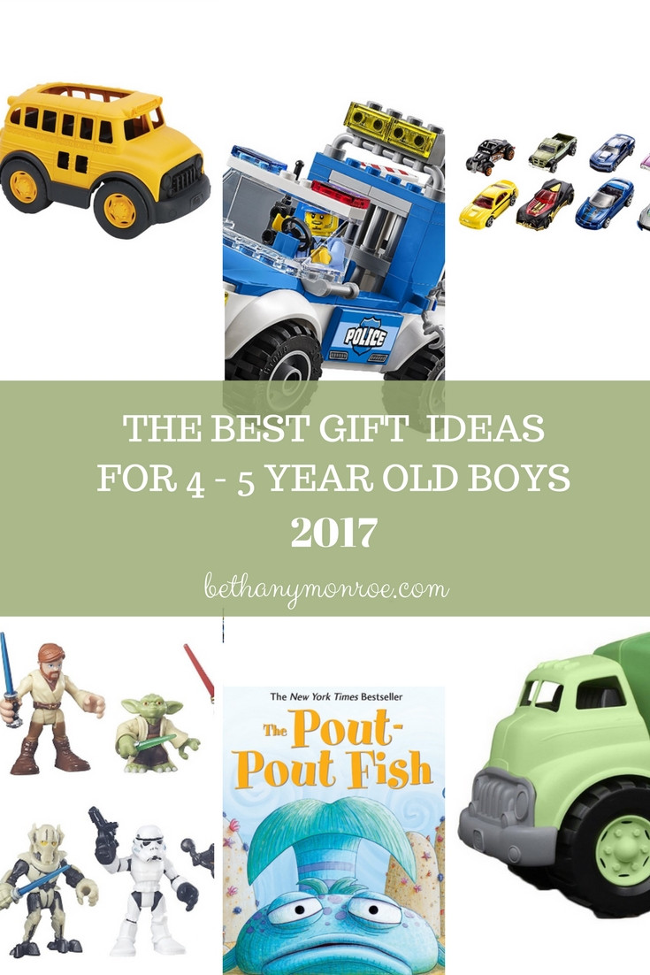 Best ideas about Gift Ideas For 5 Year Old Boys . Save or Pin Gift Ideas for 4 5 Year Old Boys • bethanymonroe Now.