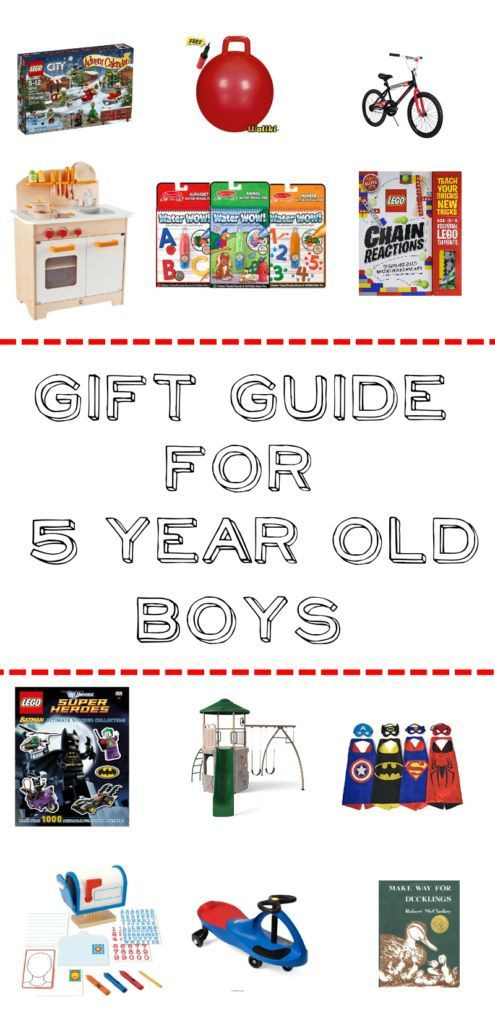 Best ideas about Gift Ideas For 5 Year Old Boys . Save or Pin Gift Guide for 5 Year Old Boys Over 50 ideas for pretend Now.