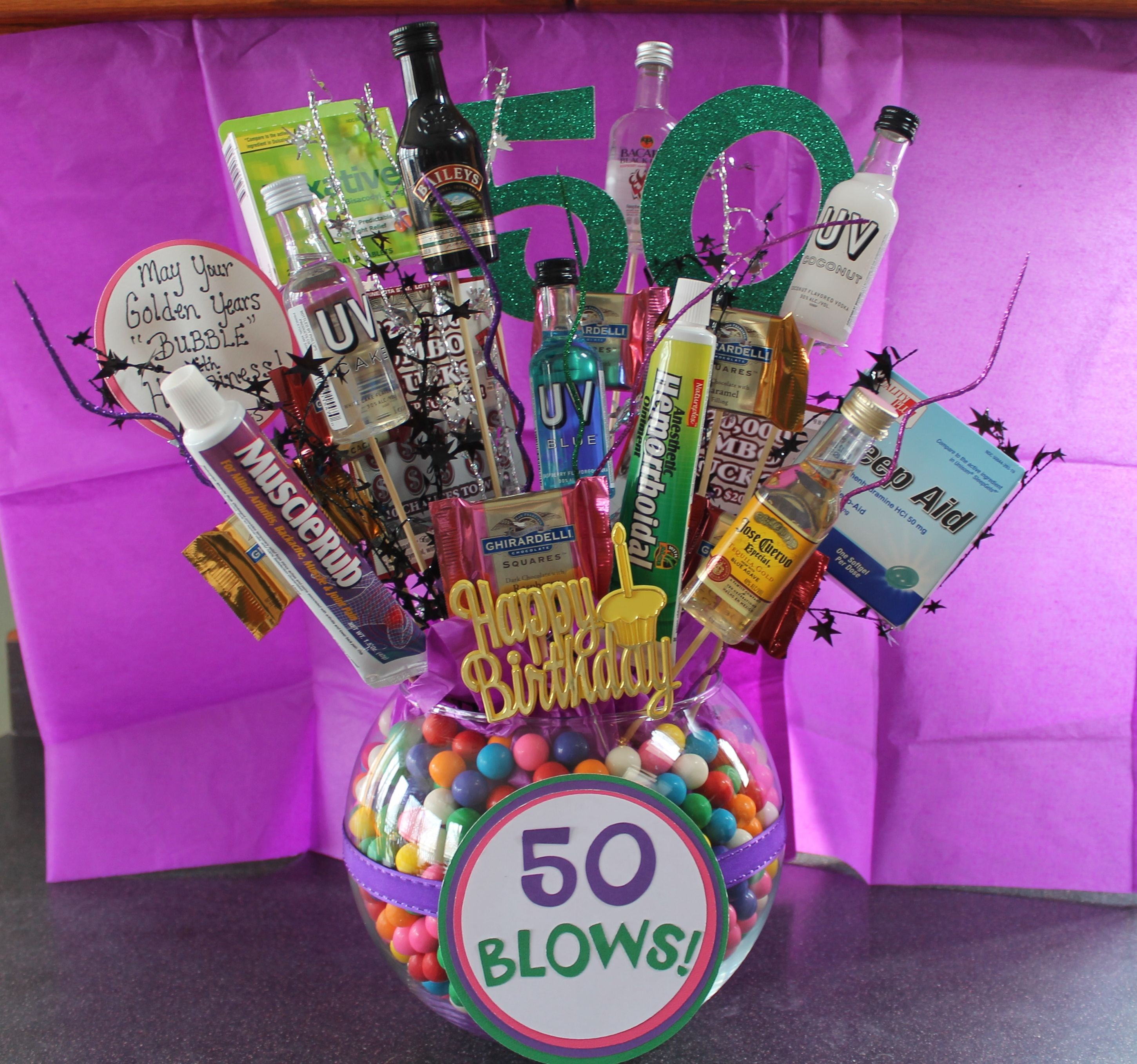 Best ideas about Gift Ideas For 50th Birthday . Save or Pin DIY Crafty Projects 50th Birthday Gift Ideas DIY Now.