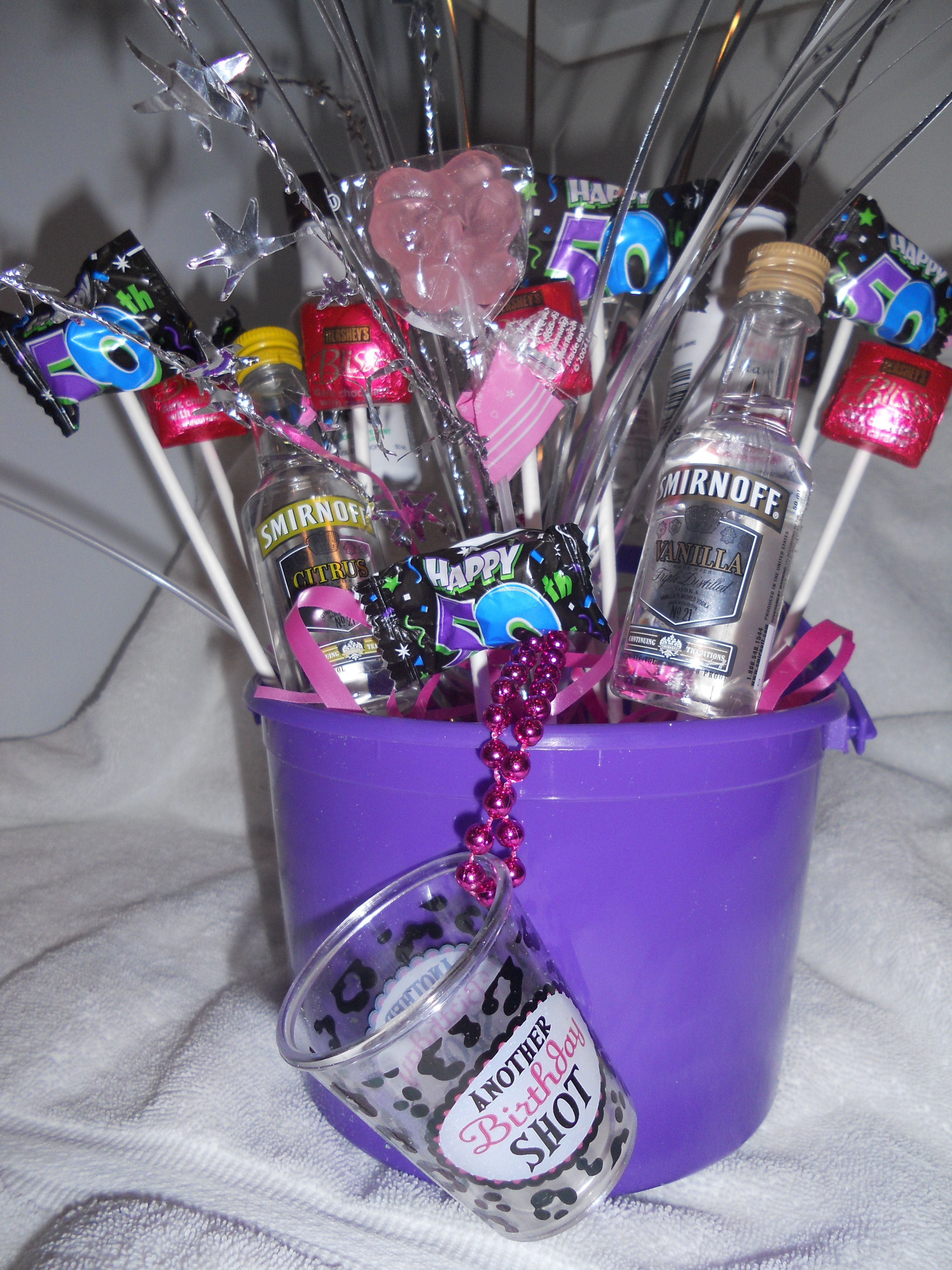 Best ideas about Gift Ideas For 50th Birthday . Save or Pin Made this for my friend s 50th birthday Now.