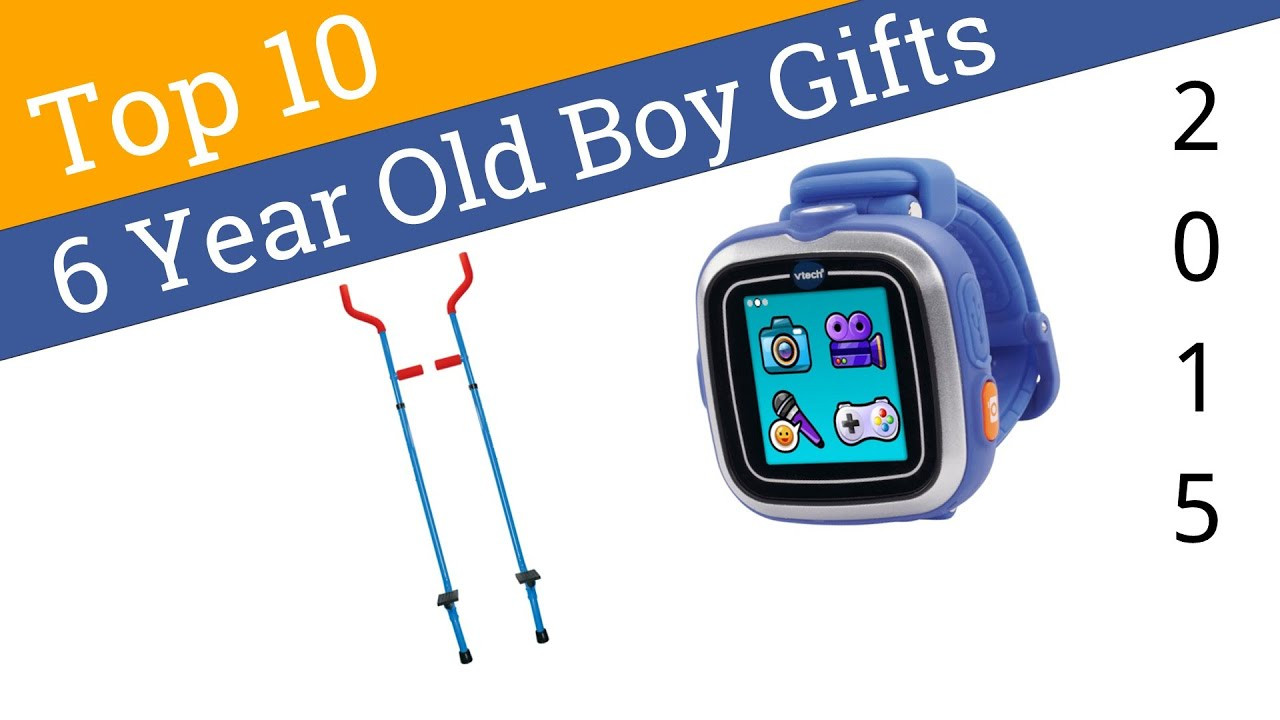 Best ideas about Gift Ideas For 6 Year Old Boys . Save or Pin 10 Best 6 Year Old Boy Gifts 2015 Now.