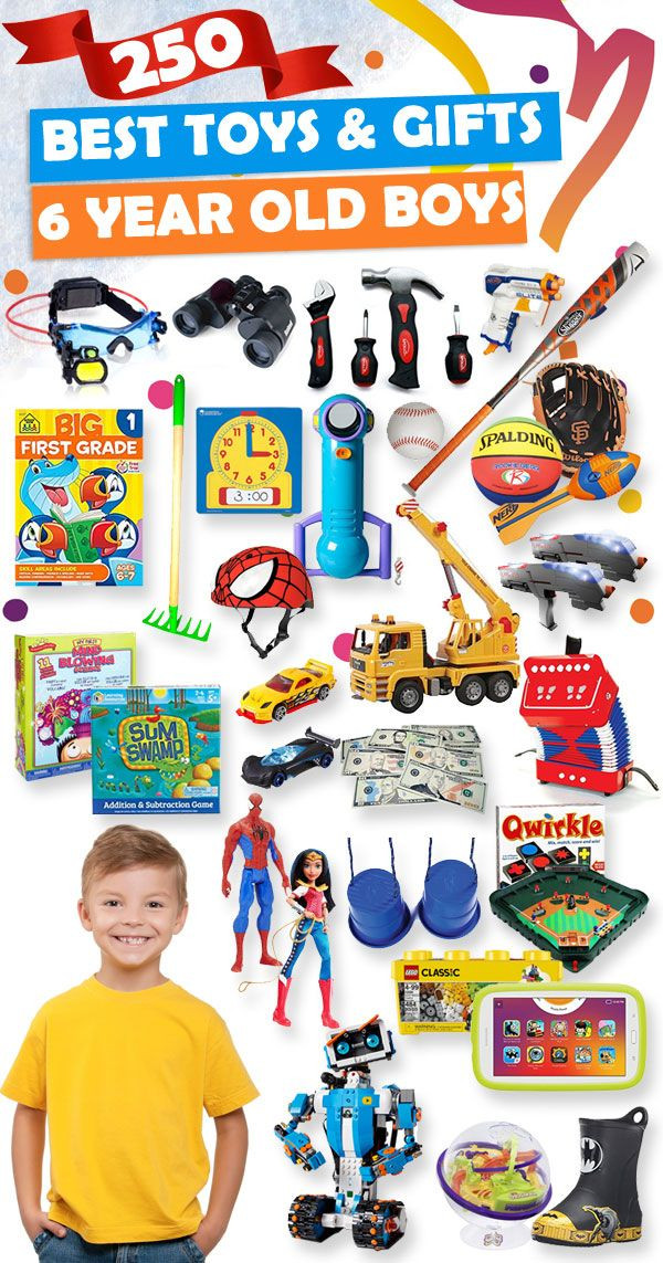 Best ideas about Gift Ideas For 6 Year Old Boys . Save or Pin Best Gifts and Toys For 6 Year Old Boys 2017 Now.