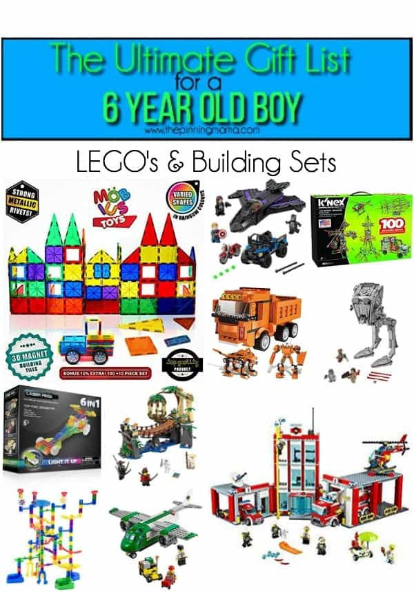 Best ideas about Gift Ideas For 6 Year Old Boys . Save or Pin The Ultimate Gift List for a 6 year old Boy • The Pinning Mama Now.