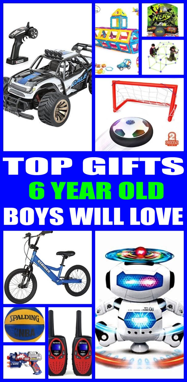 Best ideas about Gift Ideas For 6 Year Old Boys . Save or Pin Top 6 Year Old Boys Gift Ideas Now.