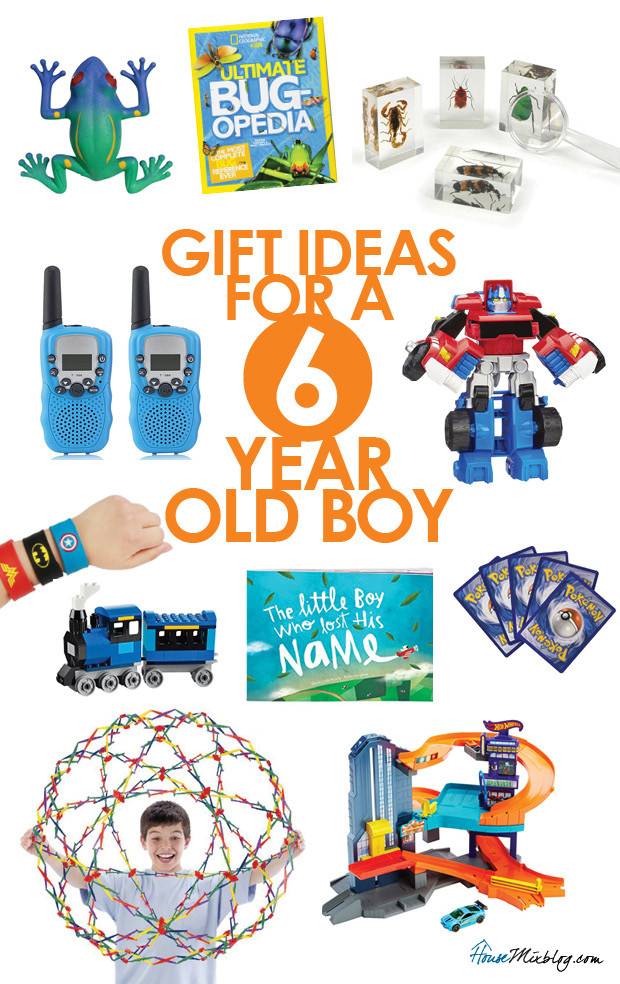 Best ideas about Gift Ideas For 6 Year Old Boys . Save or Pin Gift ideas for a 6 year old boy Now.