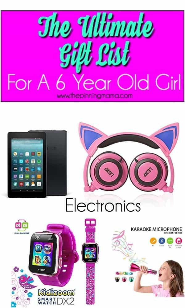 Best ideas about Gift Ideas For 6 Year Old Daughter . Save or Pin The Ultimate Gift List for a 6 year old Girl • The Pinning Now.