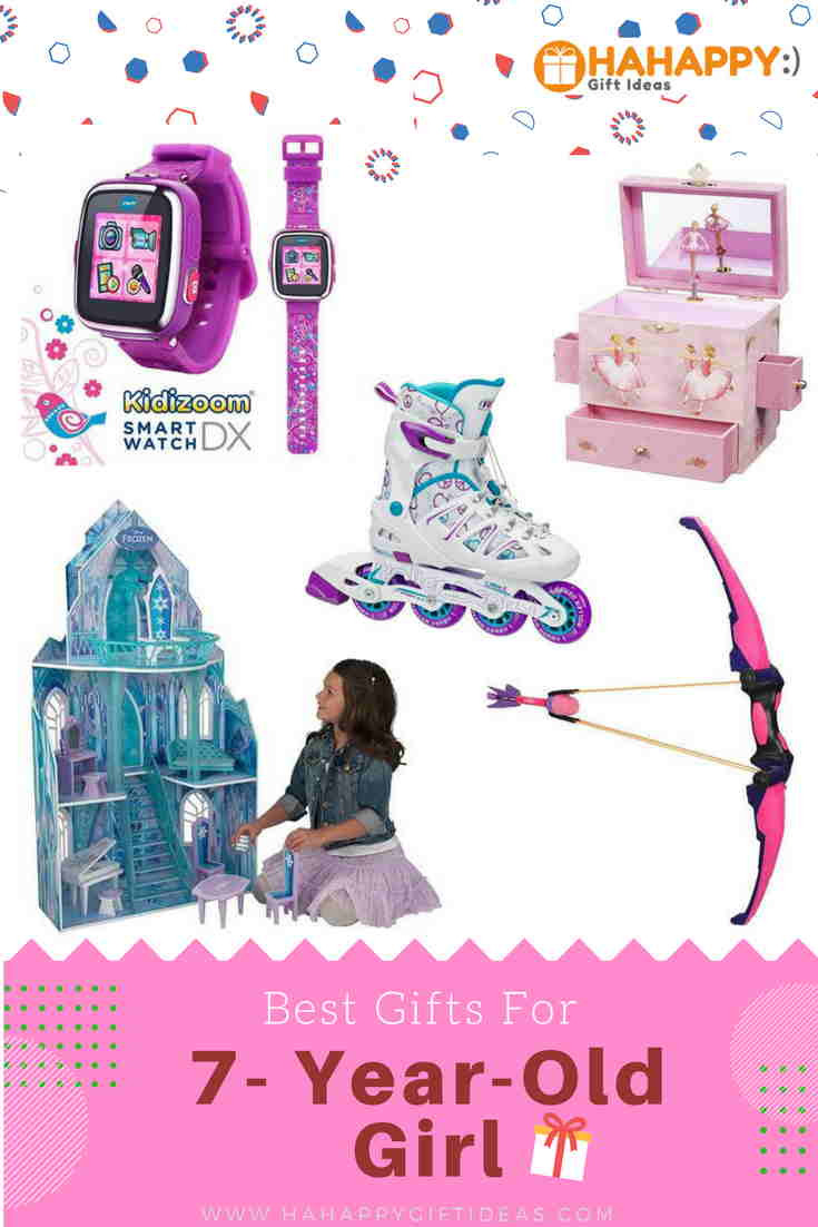 Best ideas about Gift Ideas For 7 Yr Old Girl . Save or Pin 12 Best Gifts For A 7 Year Old Girl Fun & Adorable Now.