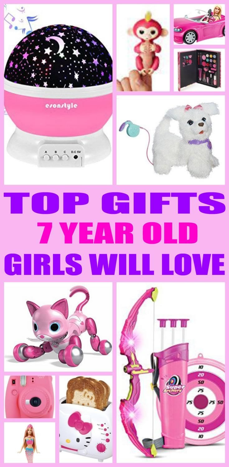 Best ideas about Gift Ideas For 7 Yr Old Girl . Save or Pin Best Gifts 7 Year Old Girls Will Love Tay Now.