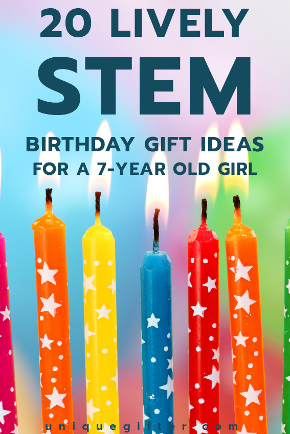 Best ideas about Gift Ideas For 7 Yr Old Girl . Save or Pin 20 STEM Birthday Gift Ideas for a 7 Year Old Girl Unique Now.