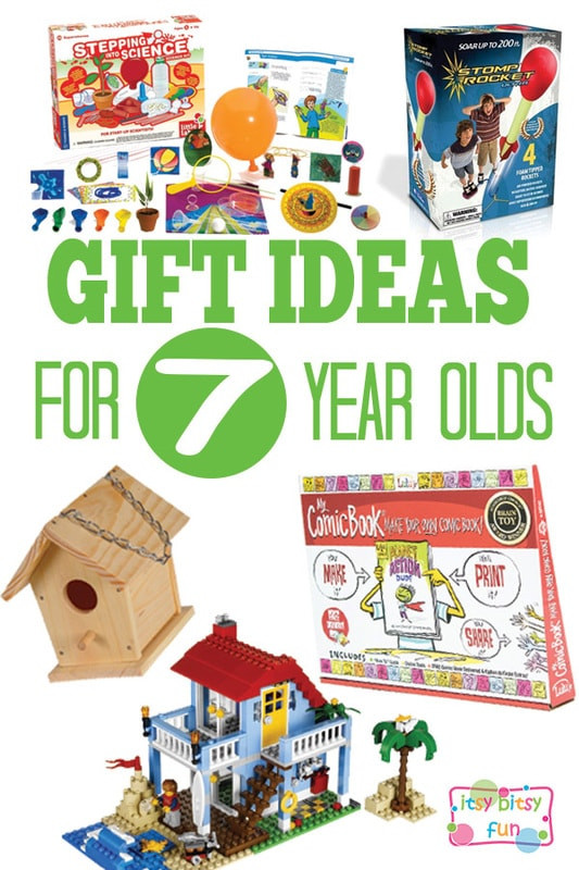 Best ideas about Gift Ideas For 7 Yr Old Girl . Save or Pin Gifts for 7 Year Olds Itsy Bitsy Fun Now.
