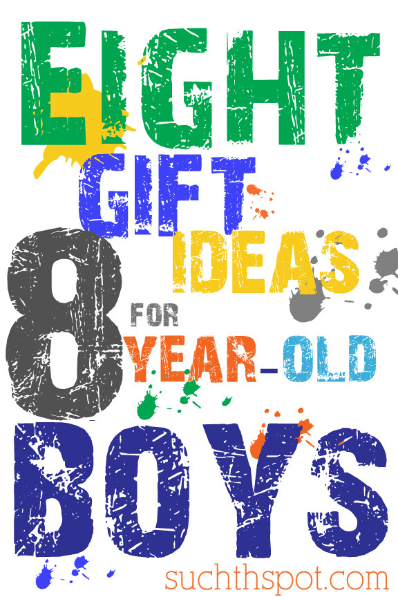 Best ideas about Gift Ideas For 8 Year Old Boys . Save or Pin Gift Ideas for Boys Ages 8 10 Now.