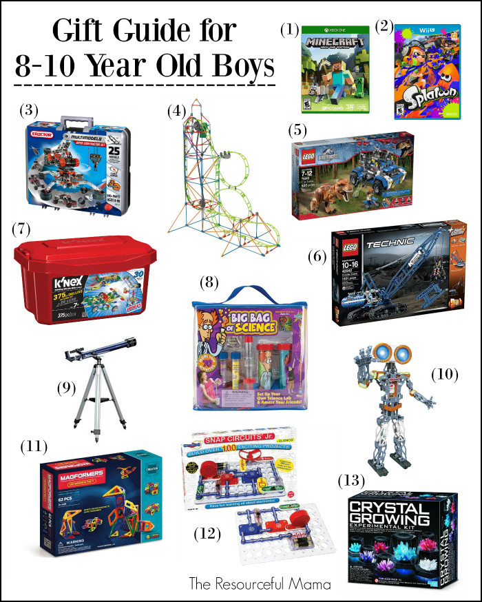 Best ideas about Gift Ideas For 8 Year Old Boys . Save or Pin Gift Ideas 8 10 Year Old Boys Now.