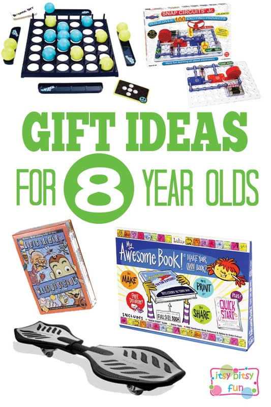 Best ideas about Gift Ideas For 8 Year Old Boys . Save or Pin Gifts for 8 Year Olds Itsy Bitsy Fun Now.