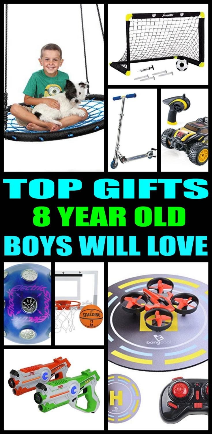 Best ideas about Gift Ideas For 8 Yr Old Boy . Save or Pin Best Gifts For 8 Year Old Boys Now.