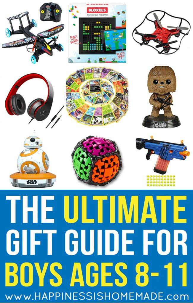 Best ideas about Gift Ideas For 9 Year Old Boys . Save or Pin The Best Gift Ideas for Boys Ages 8 11 Happiness is Homemade Now.