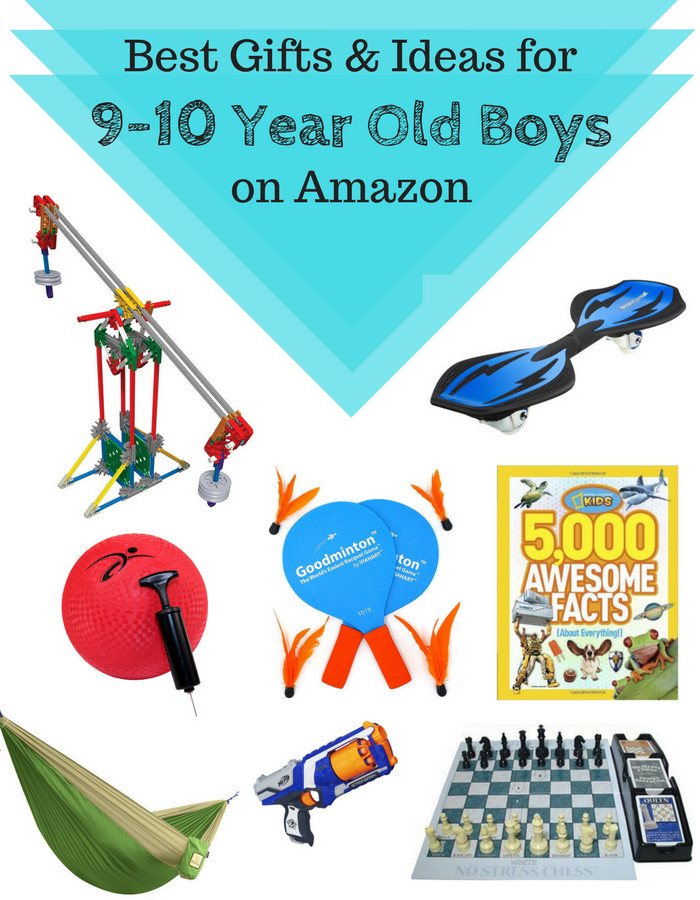 Best ideas about Gift Ideas For 9 Year Old Boys . Save or Pin Best Gifts & Ideas For Older School Age Boys 9 to 10 Now.