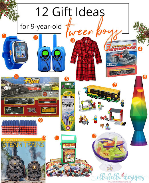 Best ideas about Gift Ideas For 9 Year Old Boys . Save or Pin Ellabella Designs 12 Gift Ideas for 9 year old Tween Boys Now.