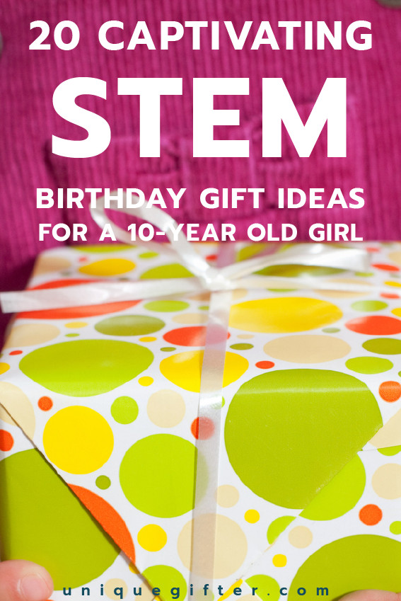 Best ideas about Gift Ideas For A 10 Year Old Girl . Save or Pin 20 STEM Birthday Gift Ideas for a 10 Year Old Girl Now.
