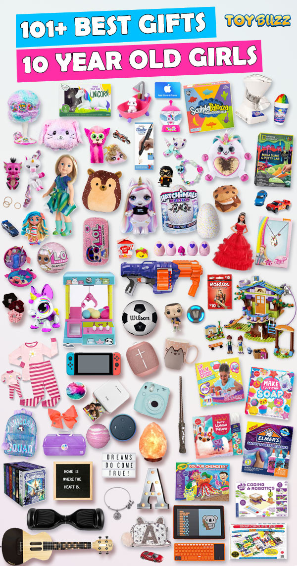 Best ideas about Gift Ideas For A 10 Year Old Girl . Save or Pin Best Gifts For 10 Year Old Girls 2018 Now.
