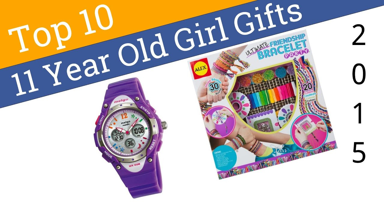 Best ideas about Gift Ideas For A 10 Year Old Girl . Save or Pin 10 Best 11 Year Old Girl Gifts 2015 Now.