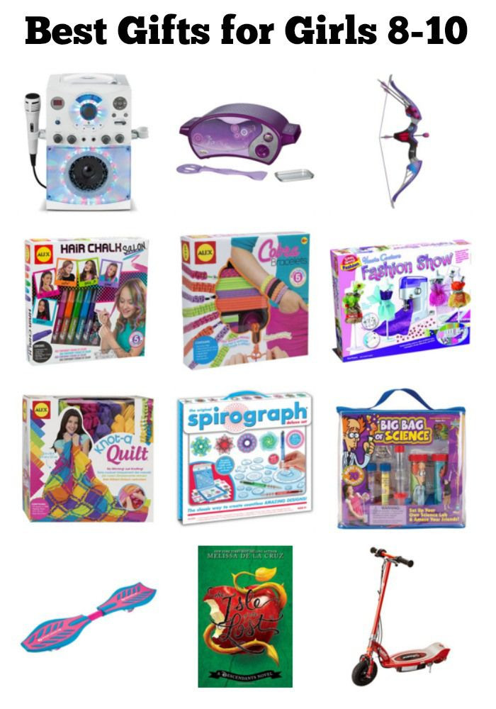 Best ideas about Gift Ideas For A 10 Year Old Girl . Save or Pin Best Gifts for 8 10 Year Old Girls Now.