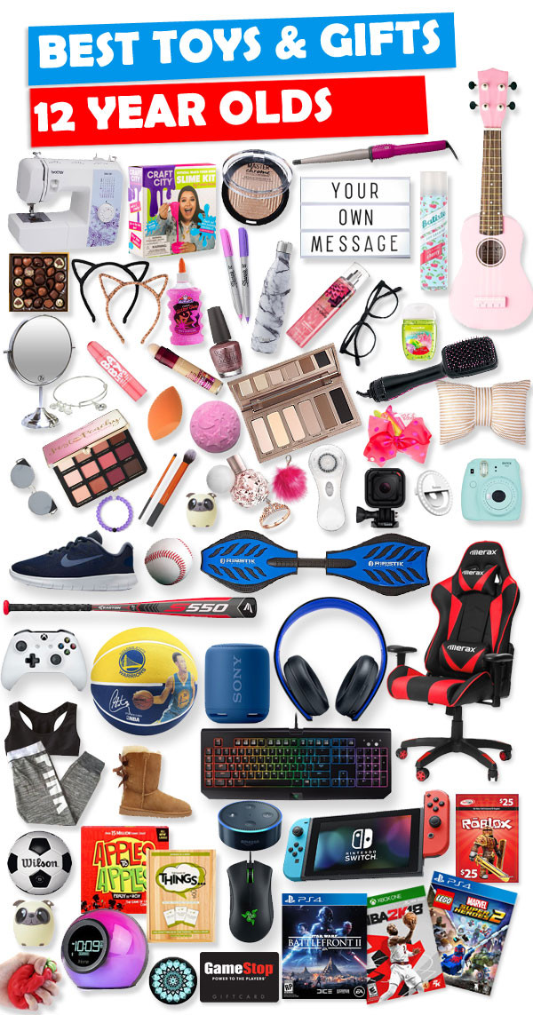 Best ideas about Gift Ideas For A 12 Year Old Boy . Save or Pin Best Gifts And Toys For 12 Year Olds 2018 Now.