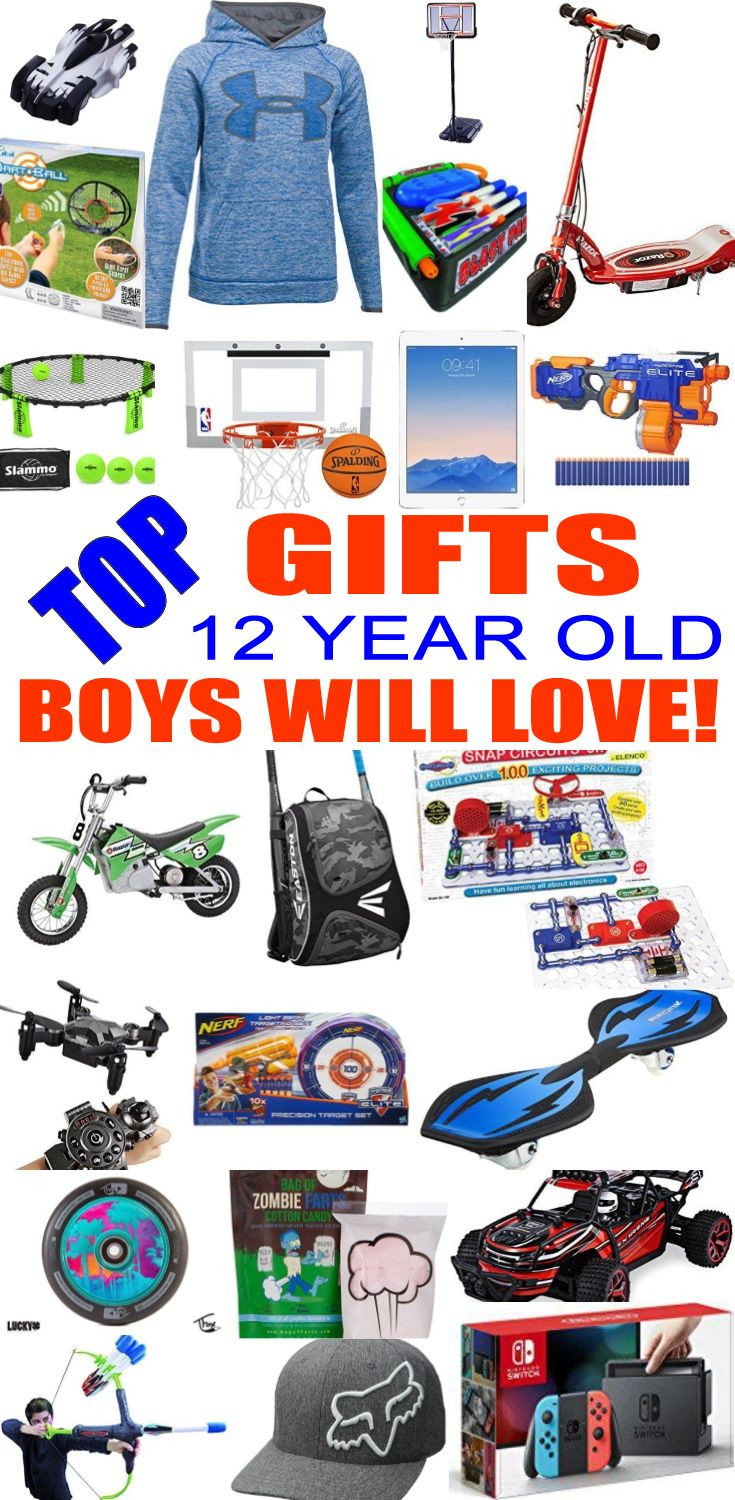 Best ideas about Gift Ideas For A 12 Year Old Boy . Save or Pin Best Gifts For 12 Year Old Boys Now.