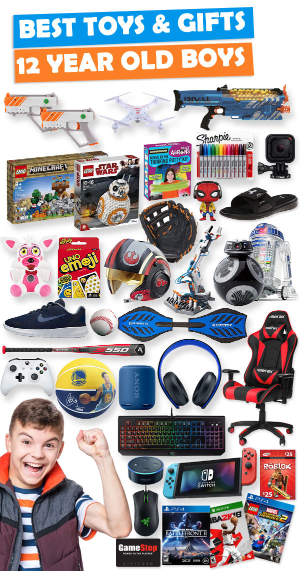 Best ideas about Gift Ideas For A 12 Year Old Boy . Save or Pin Gifts For 12 Year Old Boys 2018 Now.