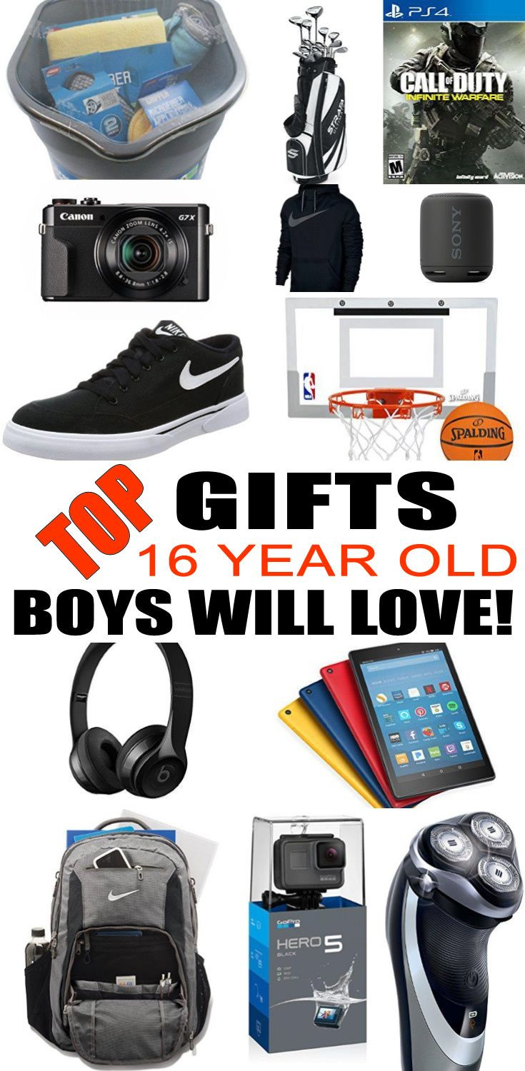 Best ideas about Gift Ideas For A 16 Year Old Boy . Save or Pin Best 25 Boy 16th birthday ideas on Pinterest Now.