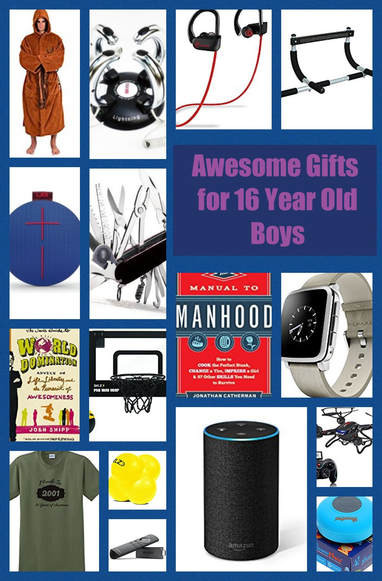Best ideas about Gift Ideas For A 16 Year Old Boy . Save or Pin Gift Ideas for 16 Year Old Boys Best ts for teen boys Now.