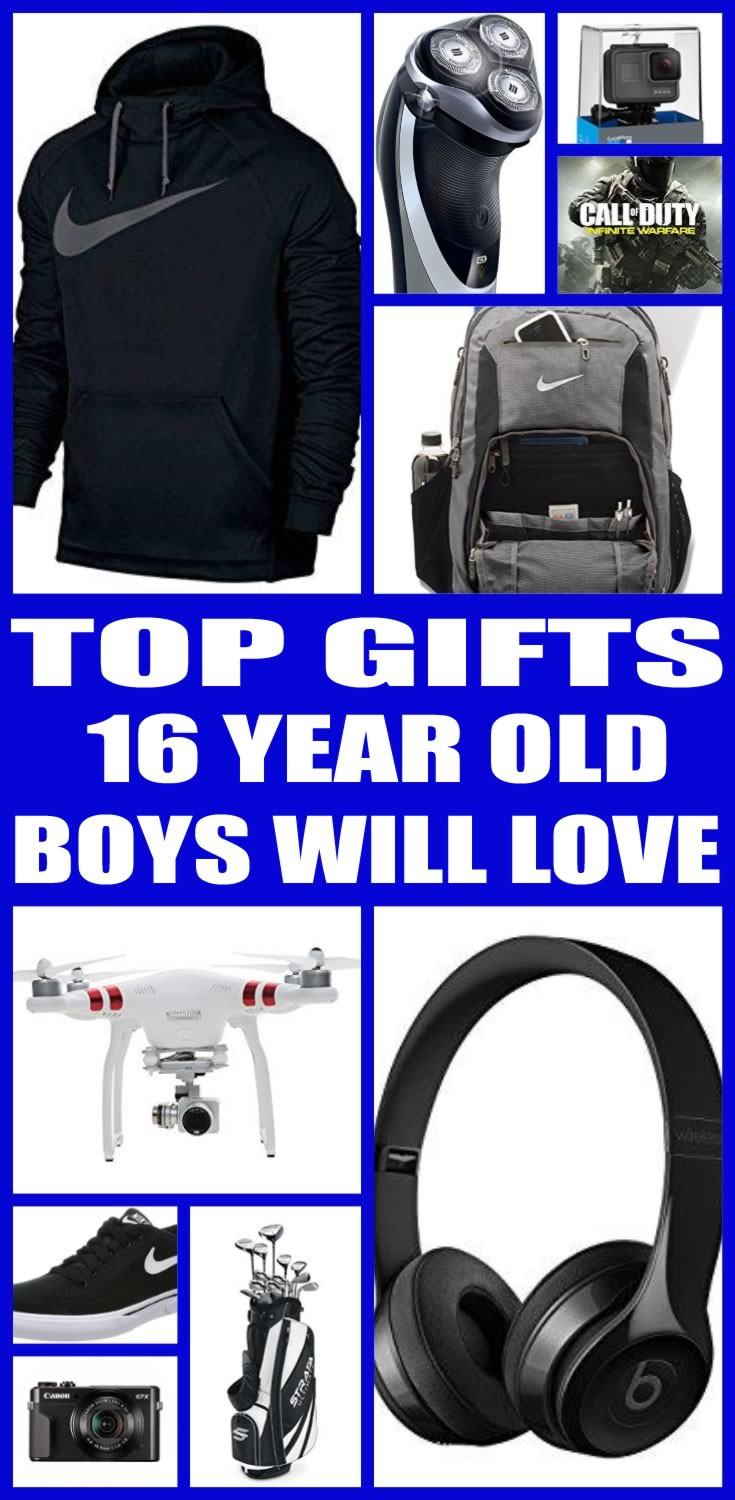 Best ideas about Gift Ideas For A 16 Year Old Boy . Save or Pin Best Gifts for 16 Year Old Boys Now.