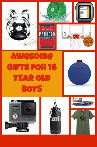 Best ideas about Gift Ideas For A 16 Year Old Boy . Save or Pin Gift Ideas for 16 Year Old Boys Now.