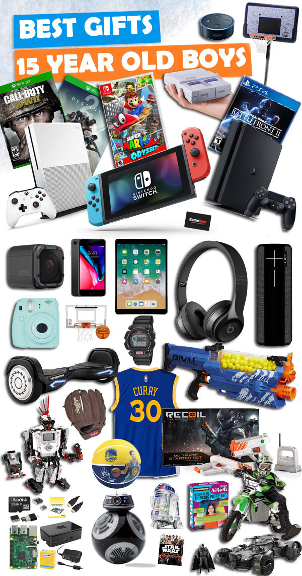 Best ideas about Gift Ideas For A 16 Year Old Boy . Save or Pin Gifts for 15 Year Old Boys Now.