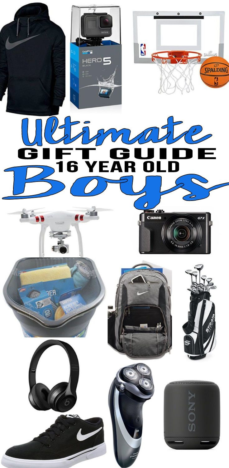Best ideas about Gift Ideas For A 16 Year Old Boy . Save or Pin Best Gifts for 16 Year Old Boys Gift Guides Now.