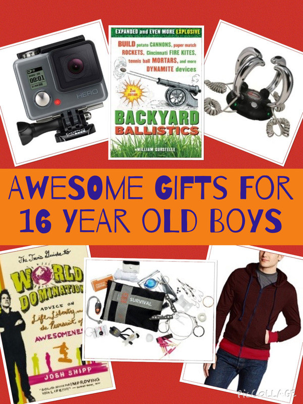 Best ideas about Gift Ideas For A 16 Year Old Boy . Save or Pin Best Gifts for 17 Year Old Boys Best ts for teen boys Now.