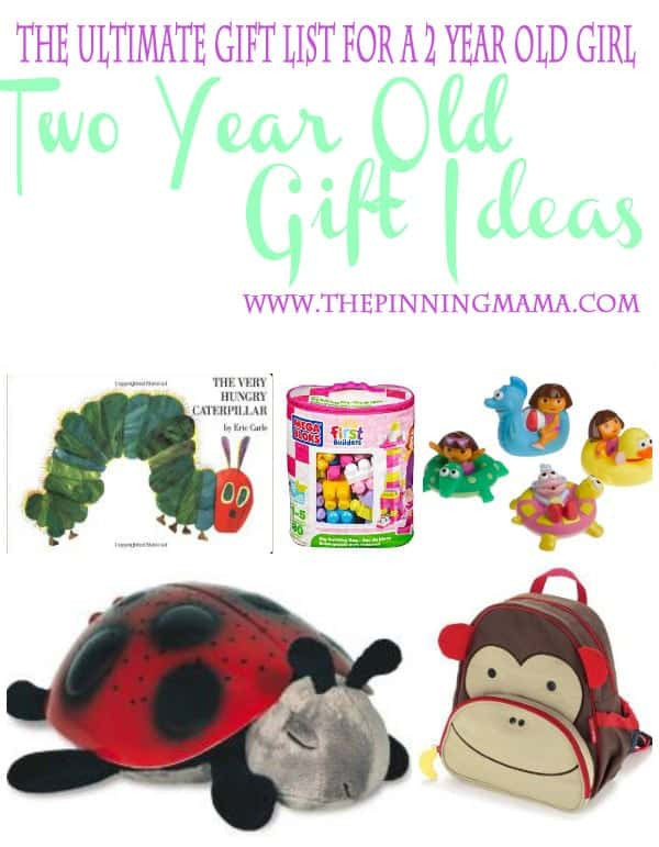 Best ideas about Gift Ideas For A 2 Year Old . Save or Pin The Ultimate List of Gift Ideas for a 2 Year Old Girl Now.