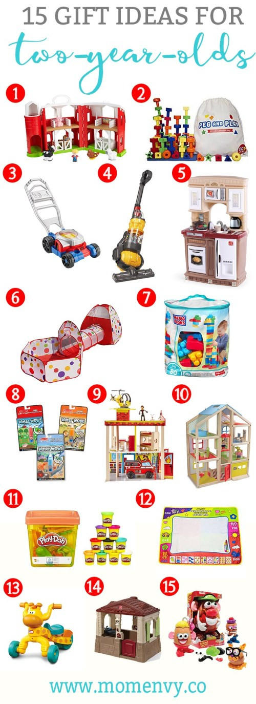 Best ideas about Gift Ideas For A 2 Year Old . Save or Pin Gift Ideas for Two Year Olds Now.