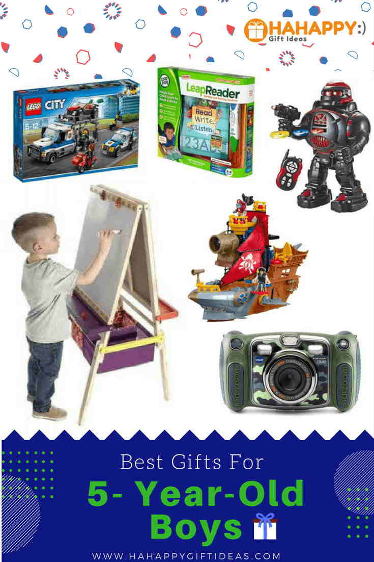 Best ideas about Gift Ideas For A 5 Year Old Boy . Save or Pin Best Gifts For A 5 Year Old Boy Educational & Fun Now.