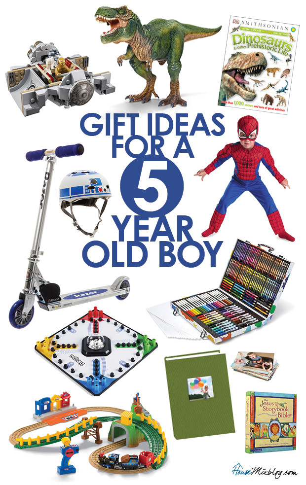 Best ideas about Gift Ideas For A 5 Year Old Boy . Save or Pin Toys for a 5 year old boy Now.