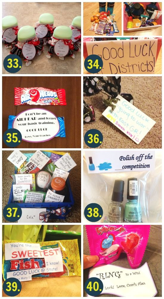 Best ideas about Gift Ideas For Athletes . Save or Pin Best 25 Good luck ts ideas on Pinterest Now.