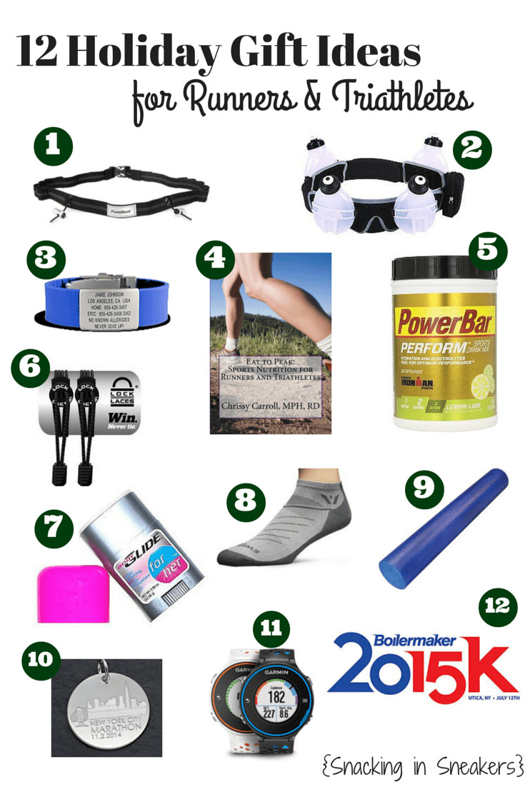Best ideas about Gift Ideas For Athletes . Save or Pin 12 Gift Ideas for Runners and Triathletes Snacking in Now.