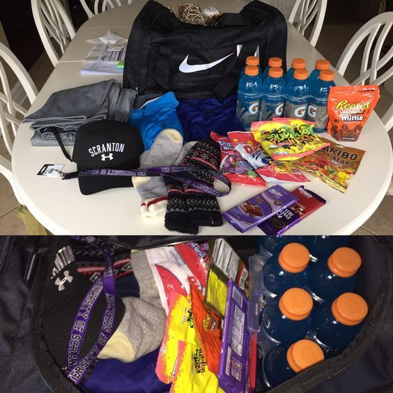 Best ideas about Gift Ideas For Athletes . Save or Pin Sporty Gift Basket Easy DIY Birthday Gifts for Boyfriend Now.
