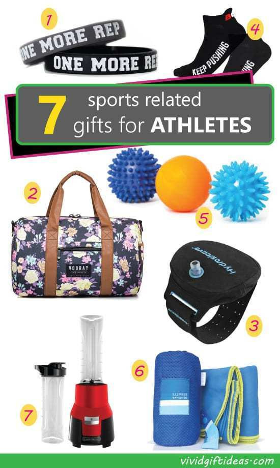 Best ideas about Gift Ideas For Athletes . Save or Pin 7 Sports Related Gift Ideas for Athletes Vivid s Now.