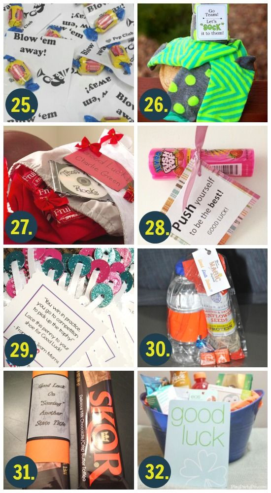 Best ideas about Gift Ideas For Athletes . Save or Pin 101 Ways to Say Good Luck Now.