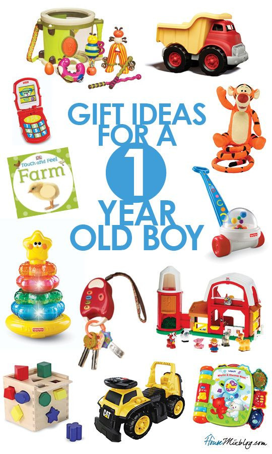 Best ideas about Gift Ideas For Baby Boy 1 Year Old . Save or Pin Gift ideas for 1 year old boys Kid s presents Now.