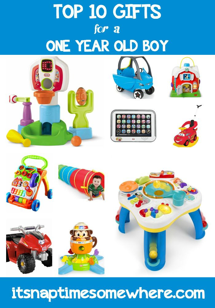 Best ideas about Gift Ideas For Baby Boy 1 Year Old . Save or Pin Top 10 Gifts for a e Year Old Boy BABIES Now.