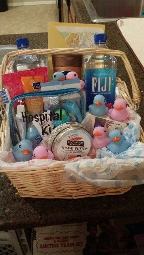 Best ideas about Gift Ideas For Baby Reveal Party . Save or Pin Gender reveal t basket for mom neat idea for a mom and Now.
