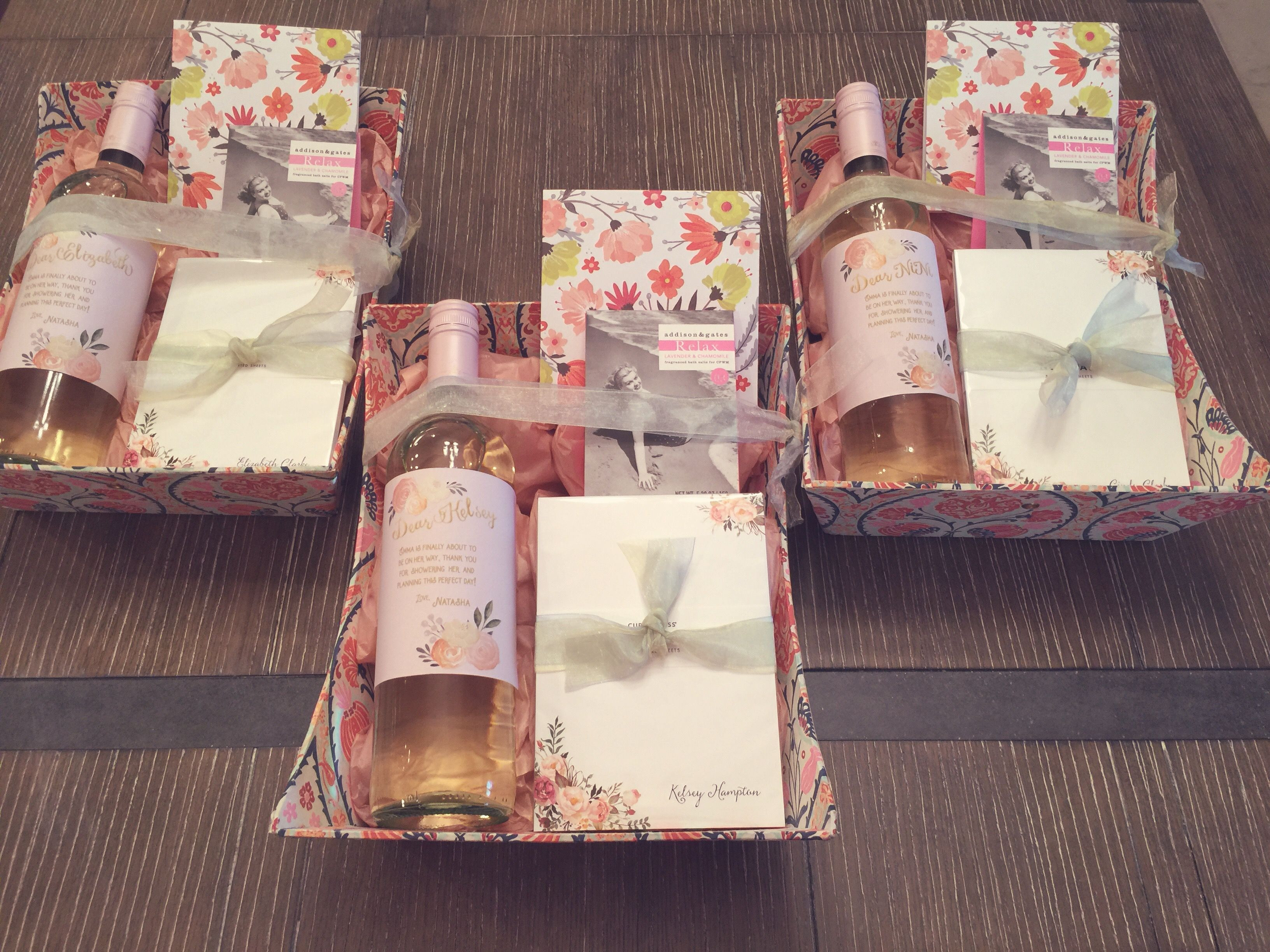Best ideas about Gift Ideas For Baby Shower Host . Save or Pin Baby Shower Hostess Thank You Gift Basket Gifts Now.